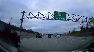 Driving to Beverly Hills, Michigan from Roseville, Michigan