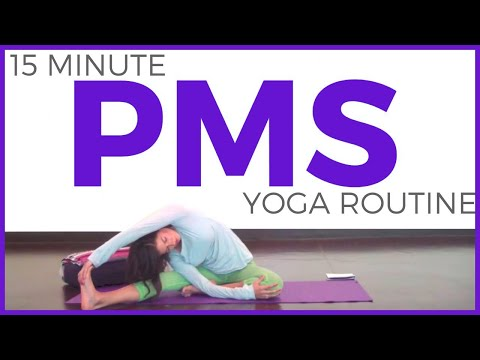 15 Minute Yoga for During Your Period | Yoga for PMS