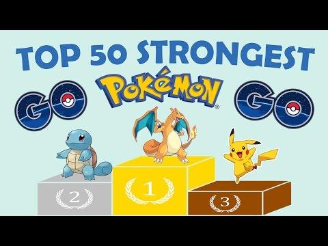 TOP 50 STRONGEST POKEMON TO WIN EVERY BATTLE IN POKEMON GO