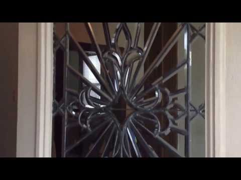 DIY stained glass window repair