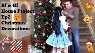 Boyfriend and Girlfriend DIY Christmas Decorations | Bf & Gf House Project Ep2