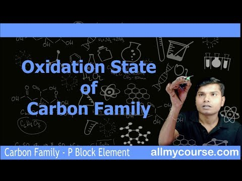 6 Oxidation State of Carbon Family