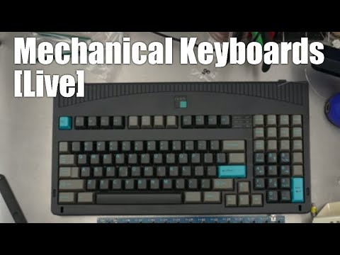 [Livestream] Mechanical Keyboards Live! - JB hosts with an original Dolch to de-solder