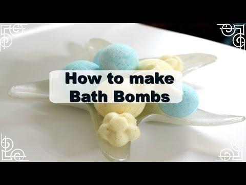 DIY| How to make Bath Bombs