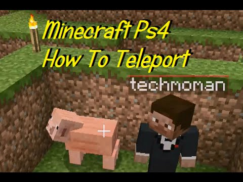 Minecraft Ps4: How To Teleport With Host Options! (Tips & Tricks)