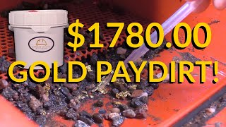 $1,780.00 Gold Paydirt - HUGE Gold Nuggets!! Lynch Mining Paydirt Bucket Review