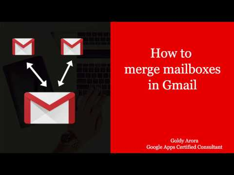 Merge Gmail Accounts with this trick - Learn merging of multiple Gmail accounts into ONE