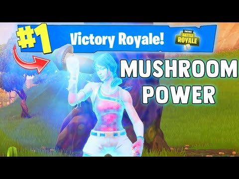 WINNING WITH MUSHROOMS (New Consumable) Fortnite Battle Royale Gameplay