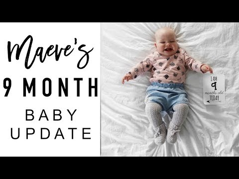9 Month Old Baby Update | BABY'S FIRST TOOTH