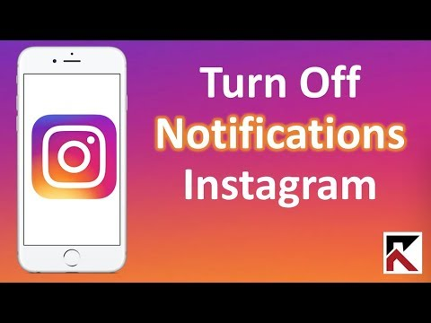 How To Turn Off Instagram Notifications iPhone