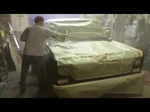 1974 Chevy C10 Painting a Faux-Patina Paint Job #1