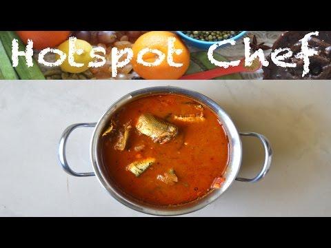 SARDINE FISH CURRY (MATHI MEEN KULAMBU) - Indian Recipe