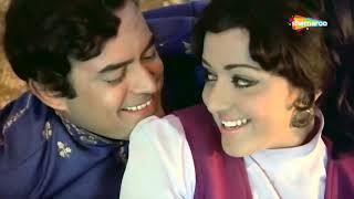 Hawa Ke Saath Saath , Seeta Aur Geeta (1972) , Hema Malini , Sanjeev Kumar , Popular Bollywood Song