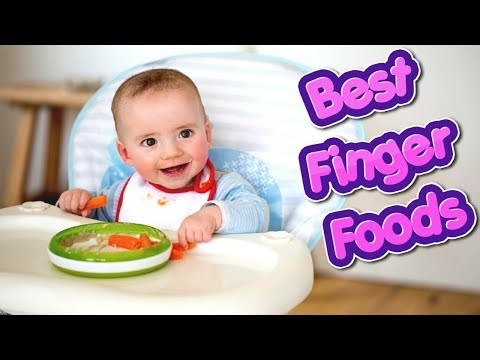 10 Best Finger Foods For Babies #NaturalRemedies