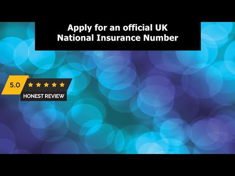 Work in the UK - Apply for an Official National Insurance Number