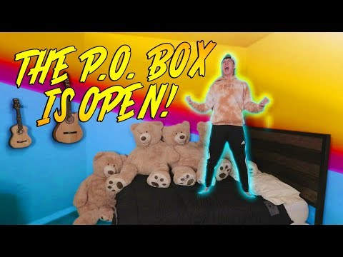 THE P.O. BOX IS FINALLY OPEN!!!