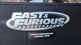 Fast and furious update and seeing what's new at Universal Studios Orlando