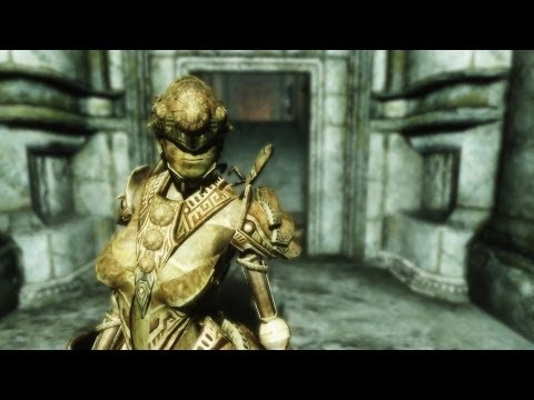 Skyrim Mod: Ihlenda the Dwemer Droid Companion