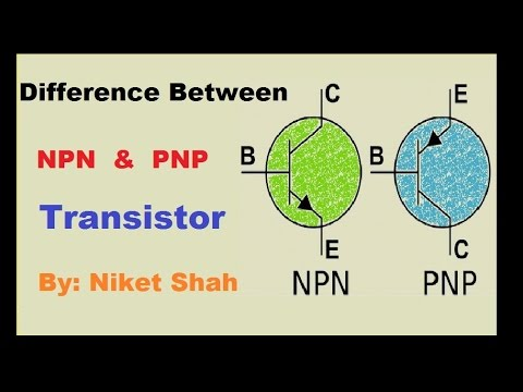 NPN and PNP transistor difference