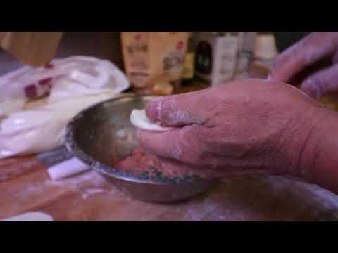 Fried Pork Roll Dumpling at Chili House SF