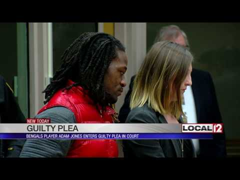 Adam Jones pleads guilty to one charge from his January arrest