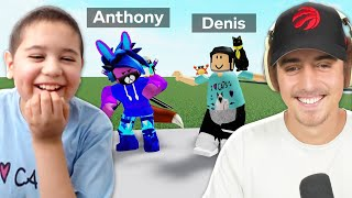 Denis Make-A-Wish with Anthony!
