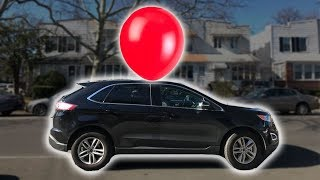 Real Life Giant Balloon Air Powered Car Part 1 ~ Cool Science Experiment 😲💨🚙