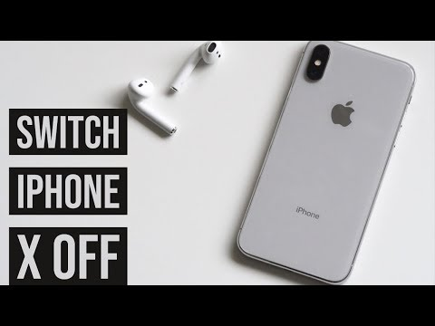 How To Switch iPhone X On & Off
