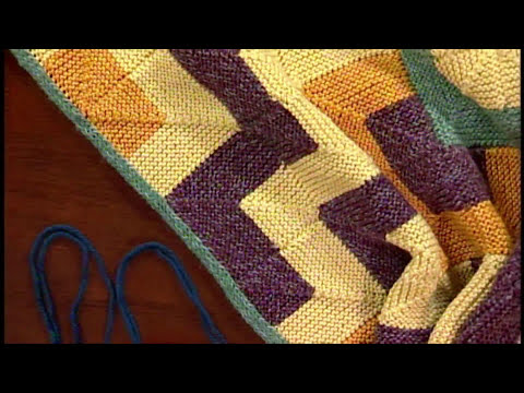 How to Knit: Join Modular Squares with Eunnu Jang, from Knitting Daily TV Episode 602
