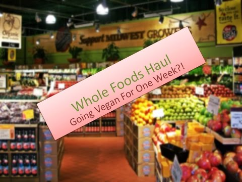 Let's Go Shopping: Whole Foods