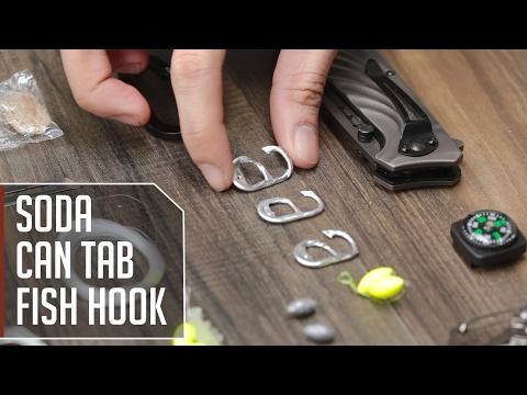 Soda Can Tab Fish Hook