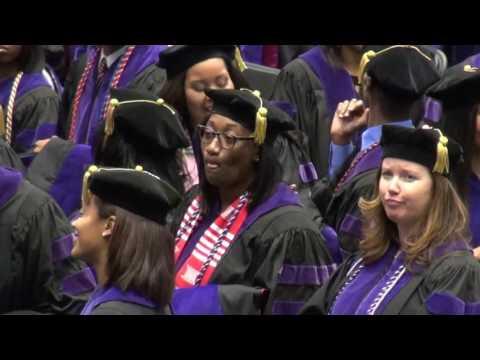 Lauren McKoy's Graduation from NCCU Law School, Part 1