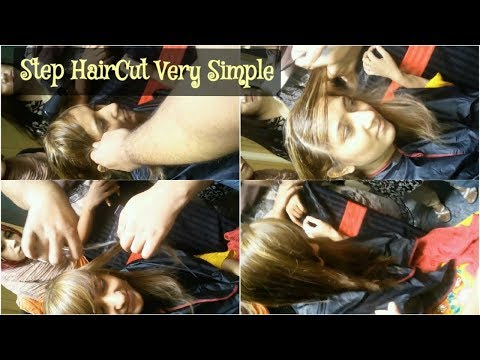 Step Hair Cutting {Now Very Easy}