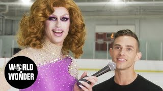 Milk on Ice! with Adam Rippon and Ashley Wagner: Olympics 2018