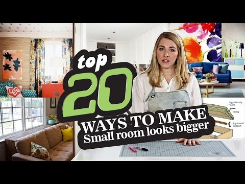 20 Organization ideas How to Make Small Room look Bigger