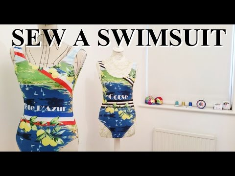 DIY How to make a swimsuit