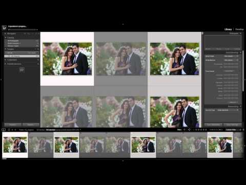 How to Batch Export Images from Lightroom 4 - From the Workflow System Workshop on DVD