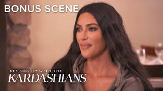Kim Kardashian West Leaked Her Own Surrogacy News | KUWTK Bonus Scene | E!