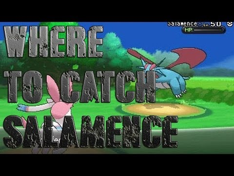 Pokémon X and Y - Where To Catch/Get Bagon/Salamence