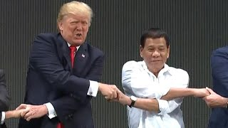 Philippines President Duterte Serenades Trump: