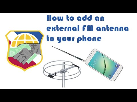 Improve FM radio reception on your android smartphone with dipole loop antenna lg samsung phone