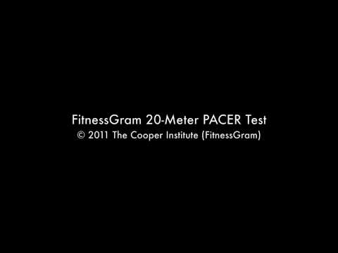 FitnessGram 20-Meter PACER Test OFFICIAL AUDIO (Part 1)