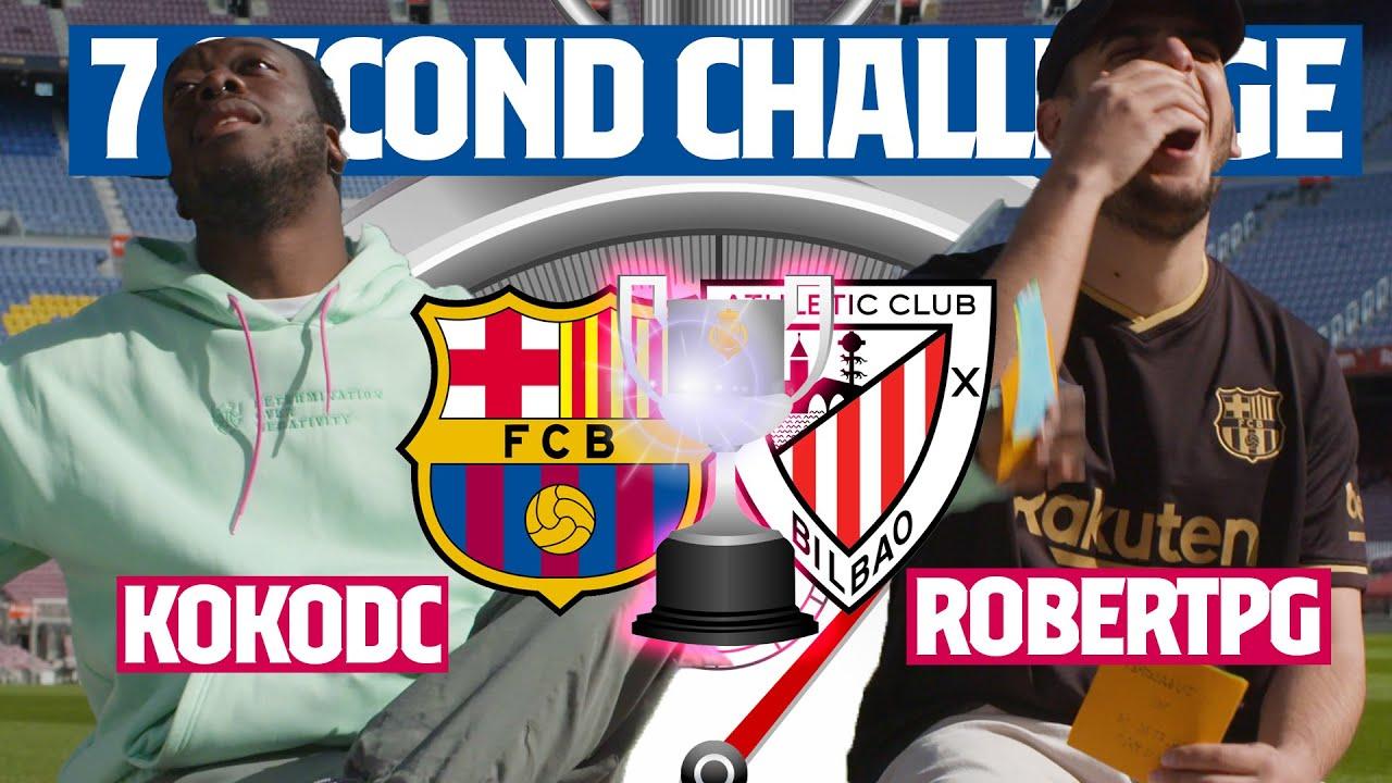 ⏱️ 7 SECOND CHALLENGE ÉPICO   🔥 ROBERT PG vs KOKO DC 🔥 (COPA DEL REY 2021)