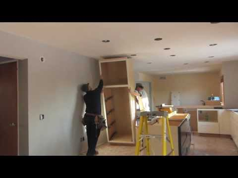 Tall Cabinet Install