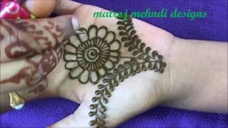 Mehndi design for hands|Mehndi design latest for kids |matroj Mehndi designs