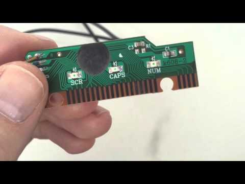 Hacking USB keyboard for game controller