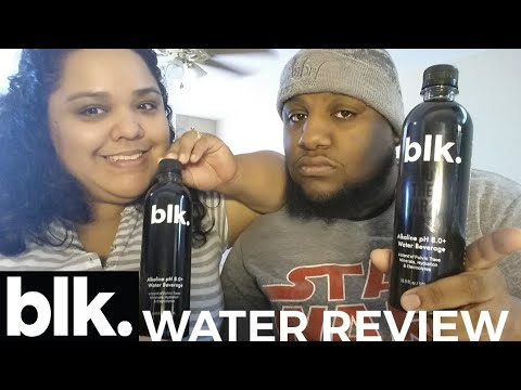 BLACK WATER TASTE TEST & BLK WATER REVIEW