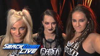 The Riott Squad enter the WrestleMania Women
