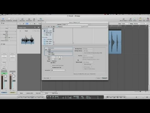 How to Record Vocals on a WAV or MP3 Track : Recording Music
