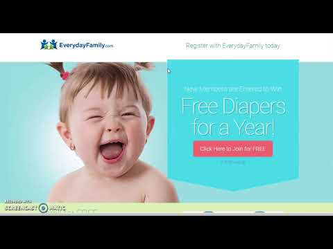 HOW TO GET FREE BABY STUFF MUST WATCH!